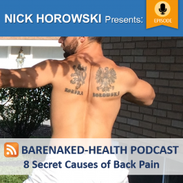 8 Secret Causes of Back Pain