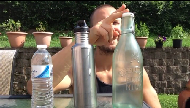 Nicks Quick Tip – What Water Bottle Should I Choose?