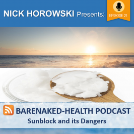 Sunblock and its Dangers
