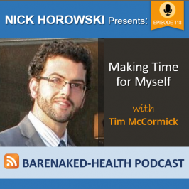 """Making Time for Myself"" with Tim McCormick"