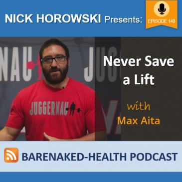 Never Save a Lift with Max Aita
