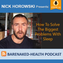 How To Solve The Biggest Problems With Sleep