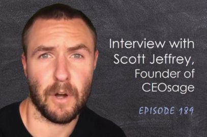 Interview with Scott Jeffrey Founder of CEOsage