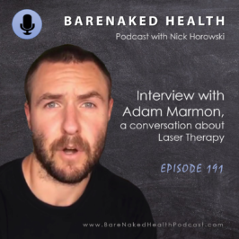 Laser Therapy with Adam Marmon