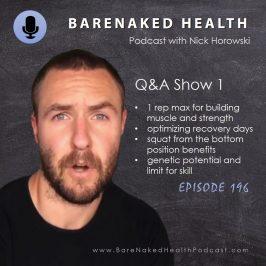Nick Horowski Q&A Show 1